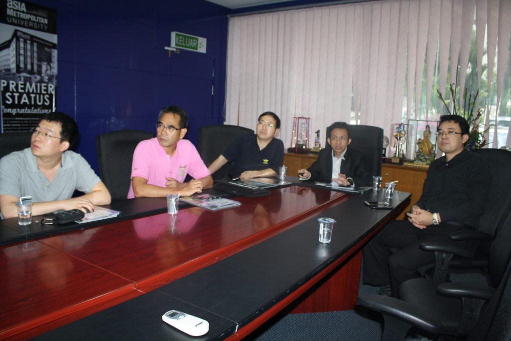 西安科技大学高新学院访问亚洲城市大学