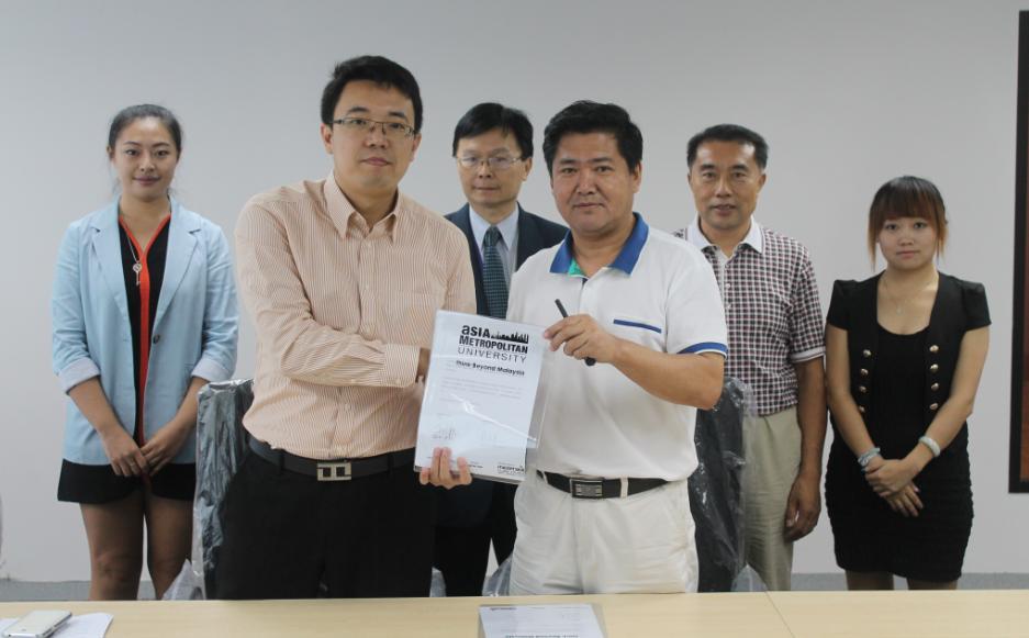 亚洲城市大学接待中国高校代表团并签署合作框