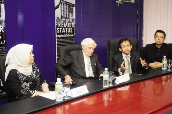 亚洲城市大学与英国ABE全面合作