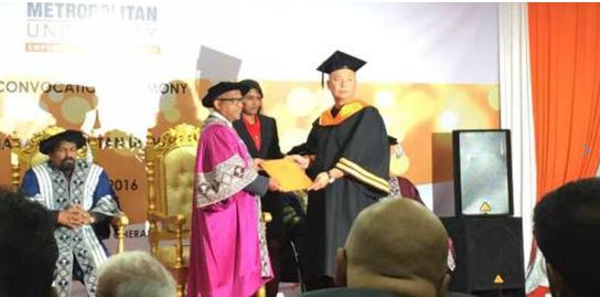 亚洲城市大学中国在职MBA毕业典礼